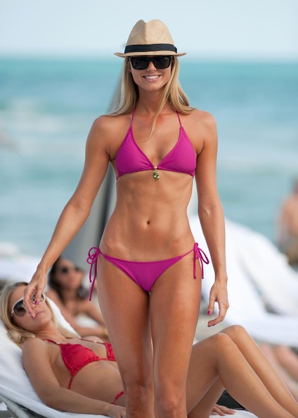 Bikini in keibler stacy