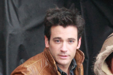 Colin Donnell Stars On The Set Of 'Arrow' In Vancouver