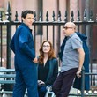 Willie Garson and Bridget Regan Photos