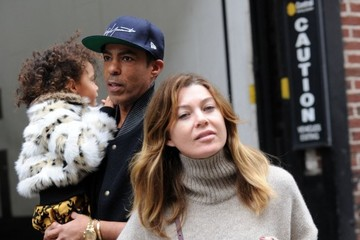 Stella Ivery Ellen Pompeo Spends the Day with Family