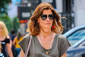 Stephanie Seymour Stephanie Seymour Out For A Stroll Through Soho