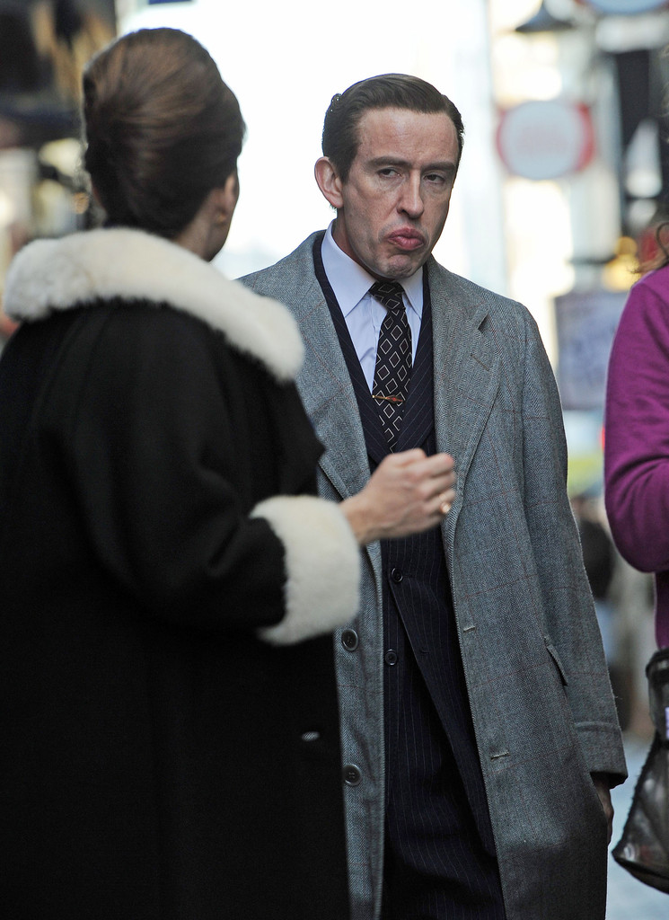 Steve Coogan and Anna Friel Film The King Of Soho - Zimbio