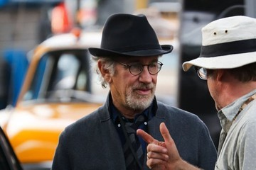 Steven Spielberg Steven Spielberg On The Set Of 'St. James Place'