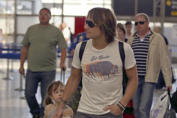 Sunday Rose Urban Keith Urban Leaves LA