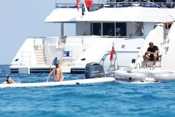 Sylvester Stallone Sophia Stallone Sylvester Stallone Vacations With His Family in St Tropez