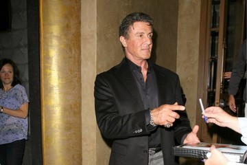 Sylvester Stallone Sylvester Stallone Dines Out At Rivabella