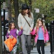 Tabitha Broderick Sarah Jessica Parker Out in NYC With Her Daughters