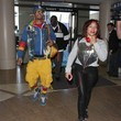 Tameka 'Tiny' Harris T.I and Tiny Departing On A Flight At LAX