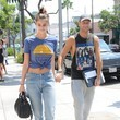 Taylor Marie Hill Taylor Marie Hill and Michael Stephen Shank Go Out for Lunch in Beverly Hills