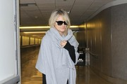 Taylor Schilling Touches Down at LAX
