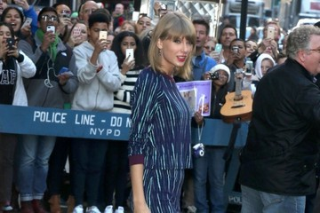 Taylor Swift Celebs Visit 'Good Morning America'