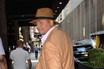 Terrence Howard Celebrities Out and About in NYC
