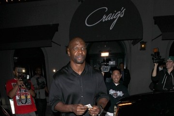 Terry Crews Celebrities Dine Out at Craig's Restaurant