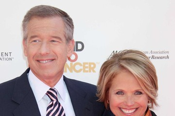 Brian Williams Katie Couric The 2010 Stand Up To Cancer