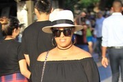 Tia Mowry Goes Shopping at The Grove