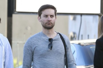 Tobey Maguire Tobey Maguire Out With A Friend In West Hollywood