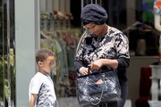 Toccara Jones Goes Shopping In Beverly Hills