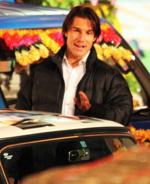tom cruise mission impossible 4 pics. Actor Tom Cruise on the set of