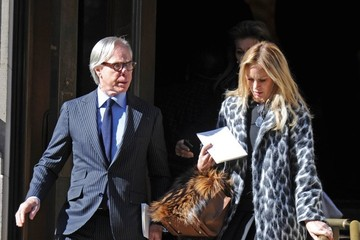 Tommy Hilfiger Funeral Held for Oscar De La Renta