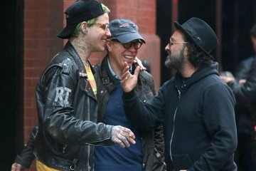 Tommy Hilfiger Rita Ora and Ricky Hil Step Out in New York
