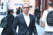 Tommy Hilfiger Spotted In NYC