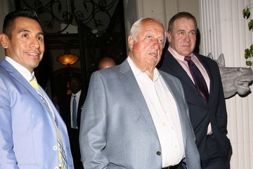 Tommy Lasorda Celebs Grab Dinner in Beverly Hills