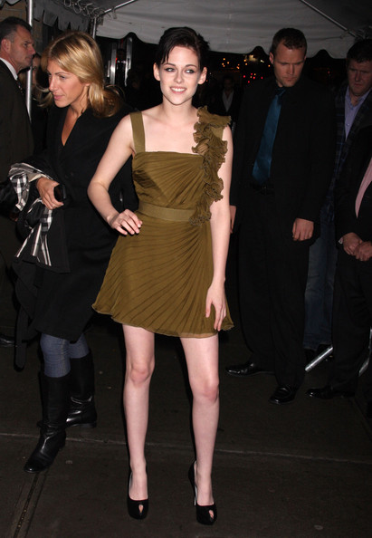 "Kristen Stewart Celebrities at a special screening for ""The Twilight Saga: New Moon"" in New York City, NY."