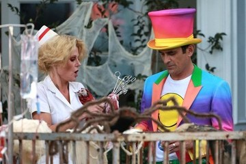 Ty Burrell 'Modern Family' Films a Halloween Episode