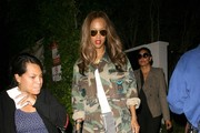Tyra Banks Dines Out at Gracias Madre