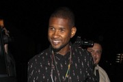 Usher Enjoys a Night Out on the Town
