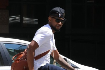 Usher Usher Goes Out for a Bike Ride in NYC