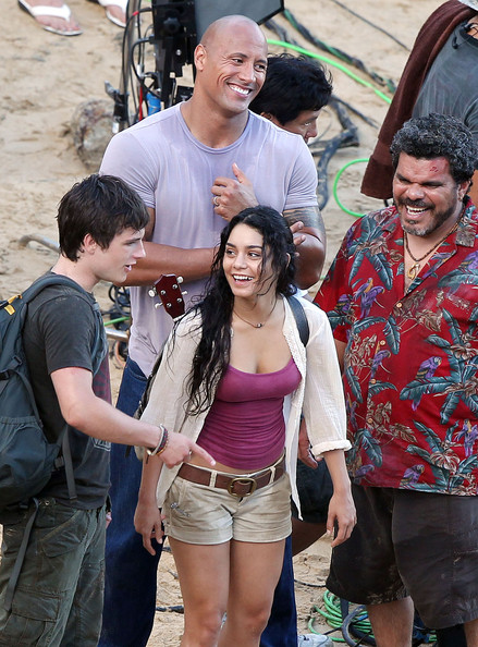 "Vanessa Hudgens and Luis Guzman Photos - Stars On Set Of ""Journey ..."