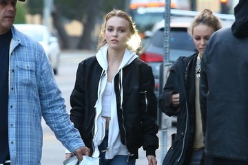 Vanessa Paradis Vanessa Paradis & Lily-Rose Depp Out Shopping in West Hollywood