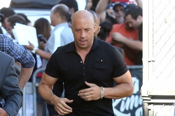 Vin Diesel Celebrities Making An Appearance On 'Jimmy Kimmel Live!'