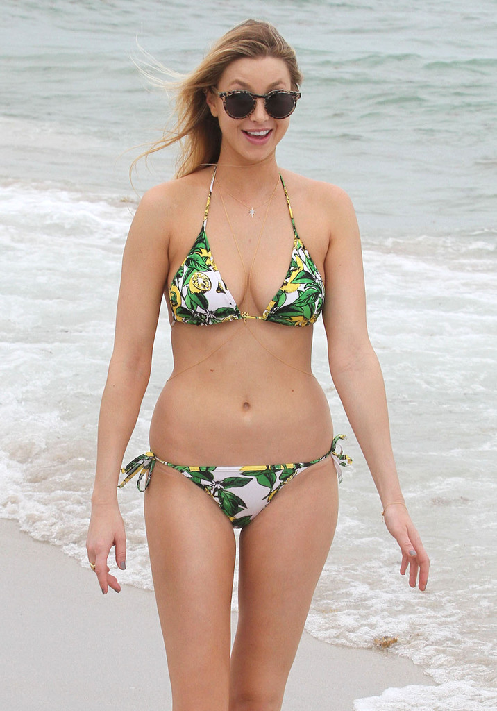 Whitney port wears a bikini in miami