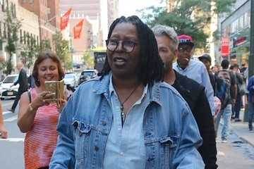 Whoopi Goldberg Whoopi Goldberg Attends Marc Jacob's Show in NYC