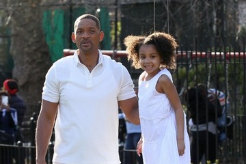 Will Smith Will Smith and Alyssa Cheatham Film 'Collateral Beauty'