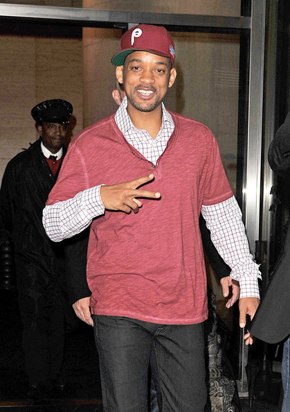 Will Smith Photos Photos - Will Smith in a Phillies Cap 2 - Zimbio 037fed7b0f6