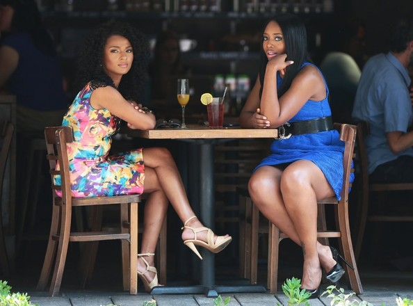 Yandy Smith and Tara Wallace Film in NYC