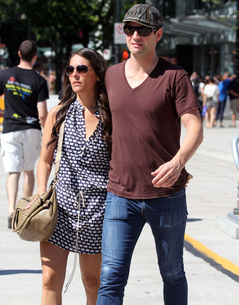 Gale Harold And Yara Martinez Out And About In Vancouver