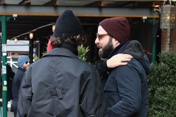 Zachary Quinto Miles Mcmillan Celebs Are Seen Outside the Bowery Hotel in NYC