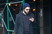 Zachary Quinto Takes A Stroll In NYC