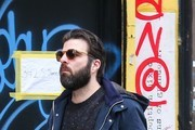 Zachary Quinto Walks His Dogs in the East Village