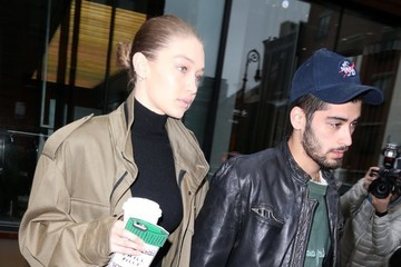 Zayn Malik Gigi Hadid and Zayn Malik Head Out and About in NYC