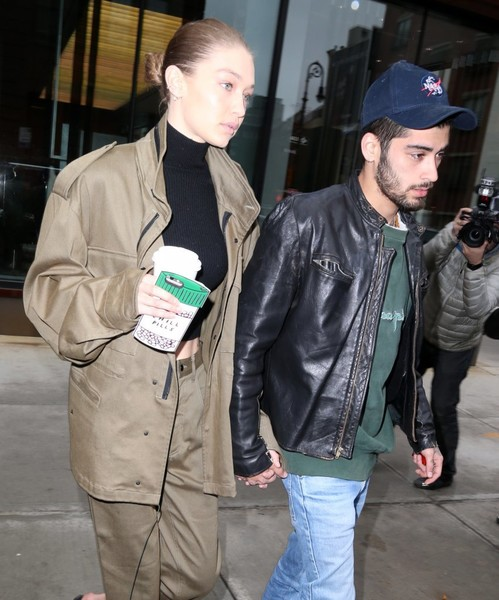 Gigi Hadid and Zayn Malik Head Out and About in NYC