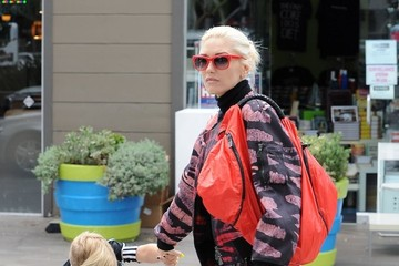Zuma Rossdale Gwen Stefani Stops by the Nail Salon