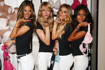 Alessandra Ambrosio Marisa Miller 10 Year Anniversary Celebration Of The Body By Victoria Collection
