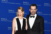 Actors Holly Burrell (L) and Ty Burrell attend the 101st Annual White House Correspondents' Association Dinner at the Washington Hilton on April 25, 2015 in Washington, DC.