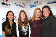 Bridgett Casteen, actress Dot-Marie Jones and guests attend 102.7 KIIS FMÂ's Jingle Ball 2015 Presented by Capital One at STAPLES CENTER on December 4, 2015 in Los Angeles, California.