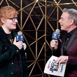 Elvis Duran and Ed Sheeran Photos